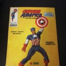 Cómics: CAPITAN AMERICA, SURGE EL CAPITAN AMERICA, EDICION ESPECIAL VERTICE NUMERO 1 AÑO 1969 PRIMERA. Lote 195511587