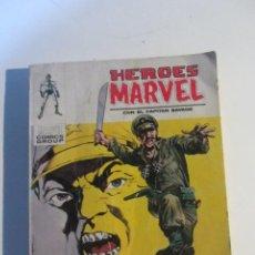 Cómics: HEROES MARVEL CON EL CAPITÁN SAVAGE VOL 1 VÉRTICE Nº 11 TACO ETX. Lote 195545095
