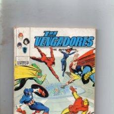 Comics : COMIC VERTICE 1974 LOS VENGADORES VOL1 Nº 52 ( BUEN ESTADO). Lote 195602682