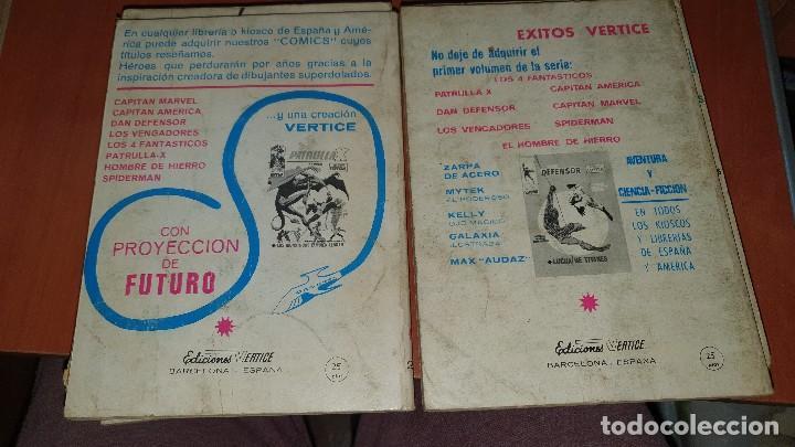 Cómics: Los 4 fantasticos, nros: 9-14-19-21-28-29-36-40-47-64, de taco, ed. Vertice - Foto 3 - 195797355
