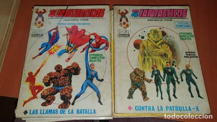 Cómics: Los 4 fantasticos, nros: 9-14-19-21-28-29-36-40-47-64, de taco, ed. Vertice - Foto 4 - 195797355