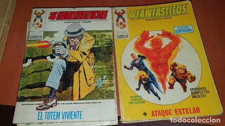 Cómics: Los 4 fantasticos, nros: 9-14-19-21-28-29-36-40-47-64, de taco, ed. Vertice - Foto 6 - 195797355