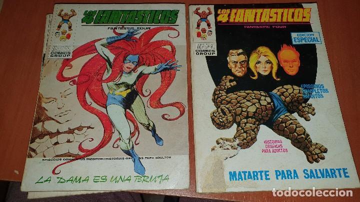 Cómics: Los 4 fantasticos, nros: 9-14-19-21-28-29-36-40-47-64, de taco, ed. Vertice - Foto 8 - 195797355