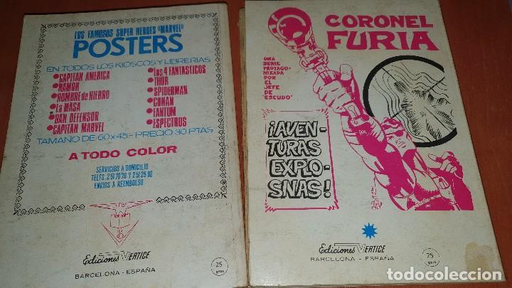 Cómics: Los 4 fantasticos, nros: 9-14-19-21-28-29-36-40-47-64, de taco, ed. Vertice - Foto 11 - 195797355