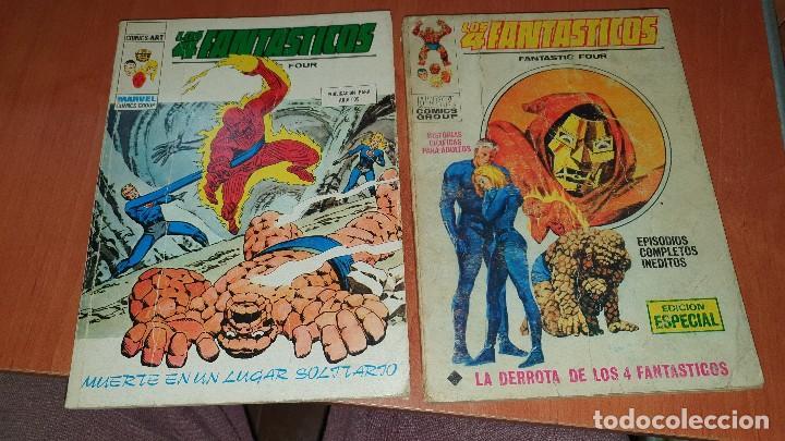 Cómics: Los 4 fantasticos, nros: 9-14-19-21-28-29-36-40-47-64, de taco, ed. Vertice - Foto 12 - 195797355