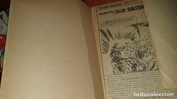 Cómics: Los 4 fantasticos, nros: 9-14-19-21-28-29-36-40-47-64, de taco, ed. Vertice - Foto 13 - 195797355