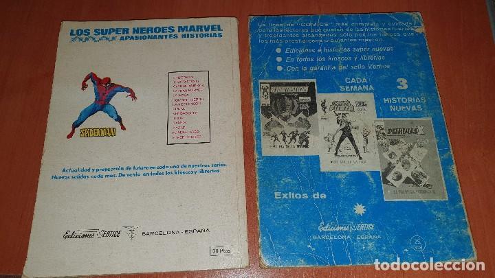 Cómics: Los 4 fantasticos, nros: 9-14-19-21-28-29-36-40-47-64, de taco, ed. Vertice - Foto 15 - 195797355