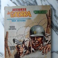 Cómics: ACCIONES DE GUERRA - COMANDOS - PRIMERA MISIÓN - NÚMERO 1 - 1972. Lote 195956820