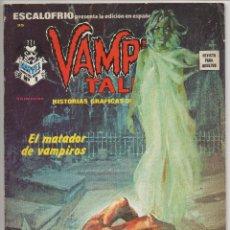 Cómics: ESCALOFRIO Nº 35 (VERTICE 1975) VAMPIRE TALES Nº 9. Lote 195989600