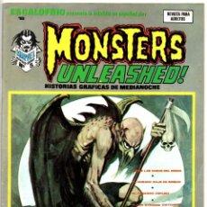 Cómics: ESCALOFRIO Nº 16 (VERTICE 1974) MONSTERS UNLEASHED Nº 5. Lote 195989848
