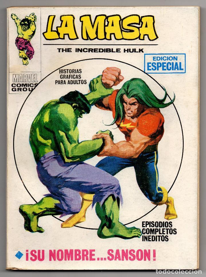 LA MASA Nº 19 (VERTICE 1972) ¡¡RESERVADO, NO COMPRAR!! (Tebeos y Comics - Vértice - La Masa)