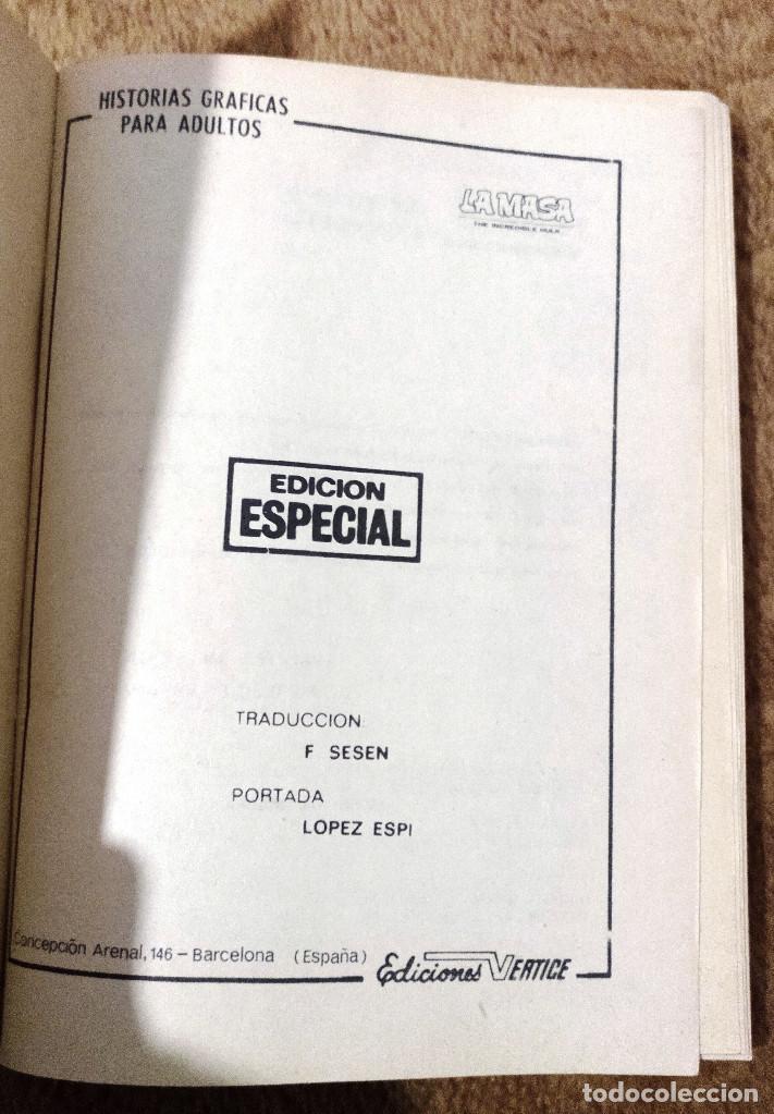 Cómics: LA MASA nº 19 (Vertice 1972) ¡¡RESERVADO, NO COMPRAR!! - Foto 2 - 195998015