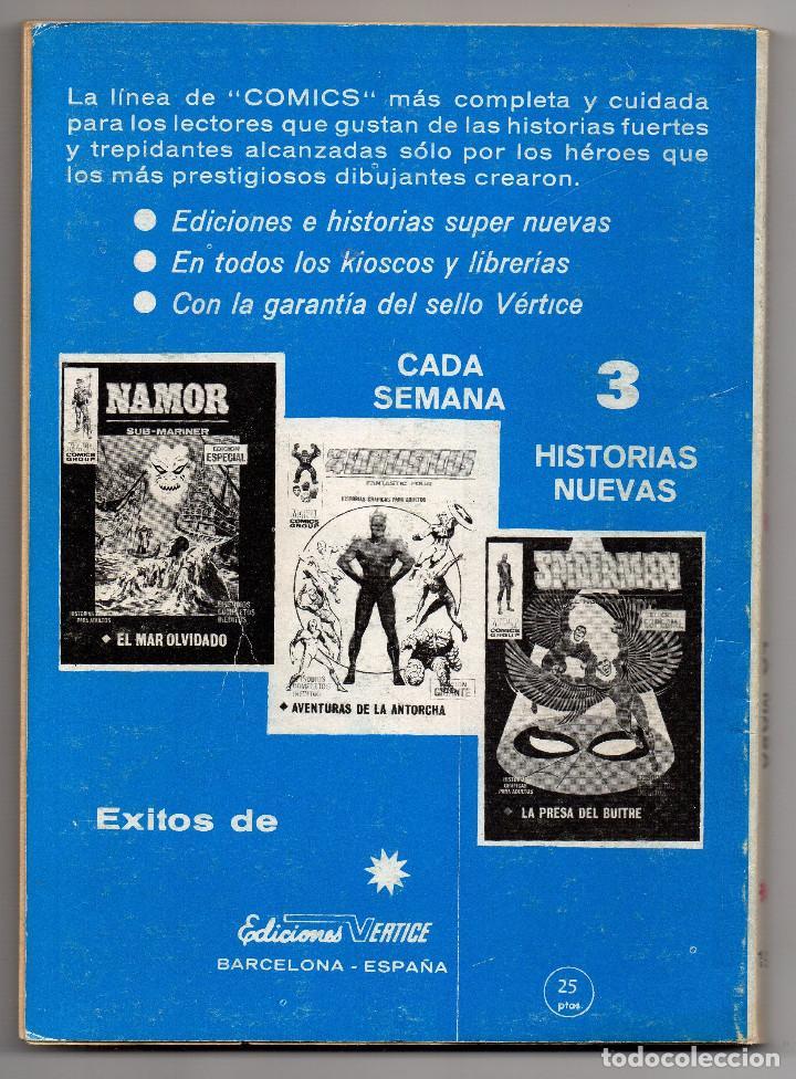 Cómics: LA MASA nº 19 (Vertice 1972) ¡¡RESERVADO, NO COMPRAR!! - Foto 6 - 195998015