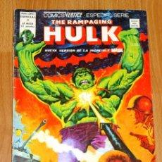 Cómics: THE RAMPAGING HULK. Nº 1 : LA CONSPIRACIÓN CRILORIANA (MUNDI-COMICS ESPECIAL). Lote 196064928