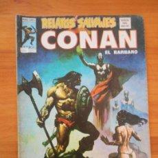 Comics : RELATOS SALVAJES - CONAN EL BARBARO V. 1 Nº 30 - MUNDI-COMICS - VERTICE - LEER DESCRIPCION (G1). Lote 196067801