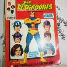 Cómics: TACO LOS VENGADORES ED. VERTICE 1970 N.º 13 NO PROVOQUES A UN GIGANTE . Lote 196312877
