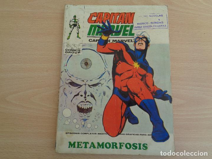 CAPITÁN MARVEL. EDICIONES INTERNACIONALES Nº 12. TACO. METAMORFOSIS. EDITA VÉRTICE. VER FOTOS (Tebeos y Comics - Vértice - V.1)