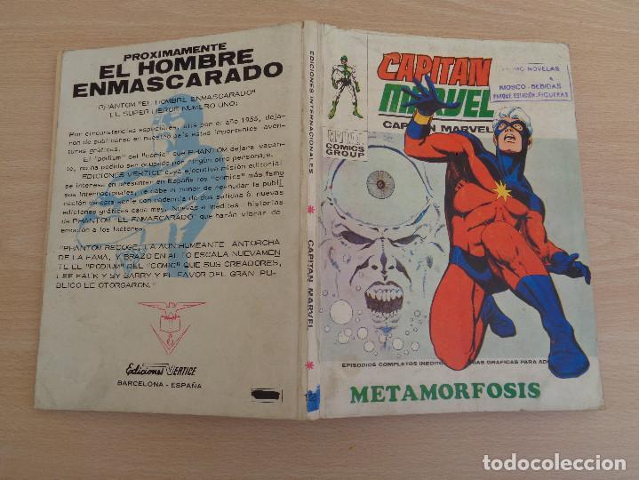 Cómics: Capitán Marvel. Ediciones Internacionales Nº 12. Taco. Metamorfosis. Edita Vértice. Ver fotos - Foto 3 - 196377198