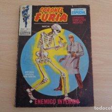 Cómics: CORONEL FURIA. EDICIONES INTERNACIONALES Nº 12. TACO. ENEMIGO INTERIOR. EDITA VÉRTICE.. Lote 196377521