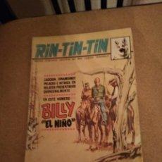 Cómics: RIN-TIN-TIN BILLY EL NIÑO. Lote 196796727