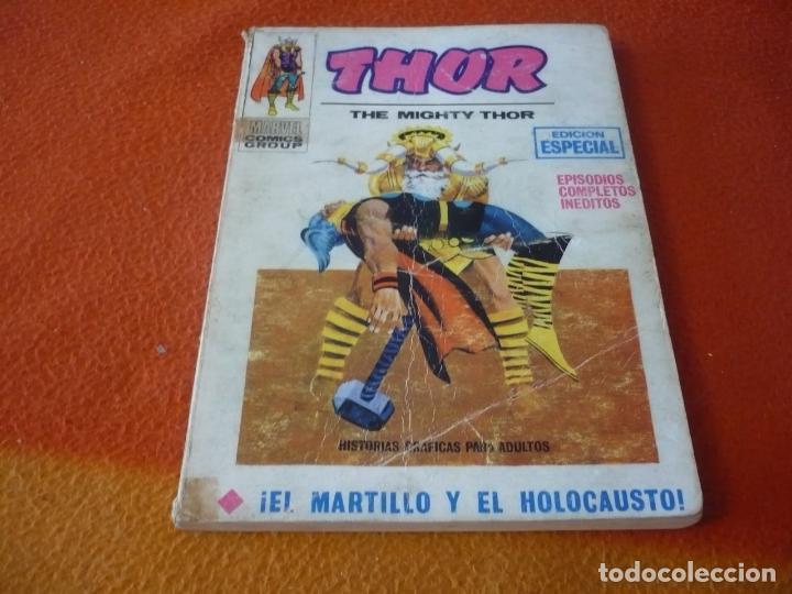 THOR VERTICE TACO VOL. 1 Nº 2 EL MARTILLO Y EL HOLOCAUSTO 1970 (Tebeos y Comics - Vértice - Thor)