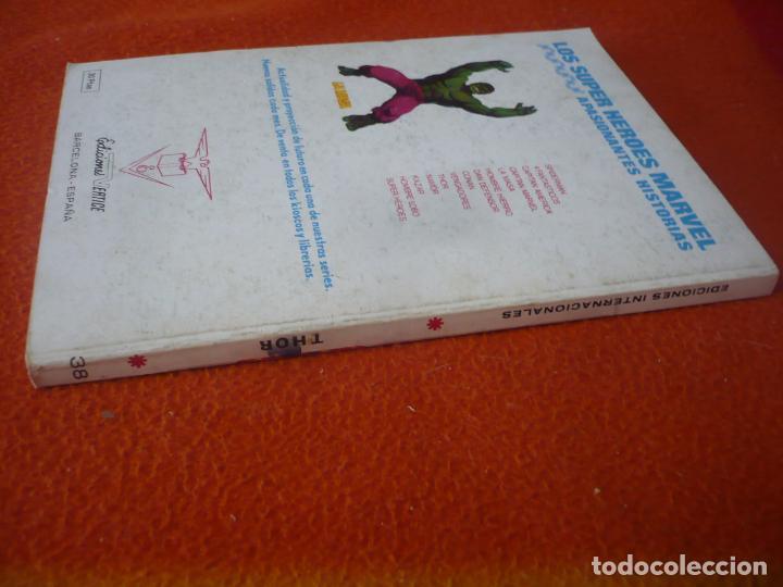 Cómics: THOR VERTICE TACO VOL. 1 Nº 38 INFINITO ¡BUEN ESTADO! 1974 - Foto 2 - 196890396