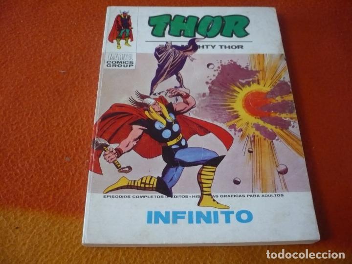 THOR VERTICE TACO VOL. 1 Nº 38 INFINITO ¡BUEN ESTADO! 1974 (Tebeos y Comics - Vértice - Thor)