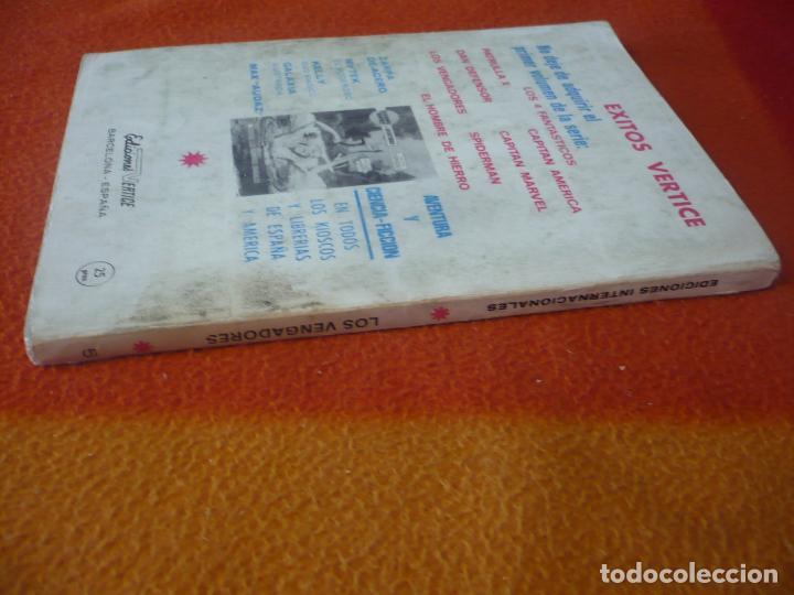 Cómics: LOS VENGADORES VERTICE TACO VOL. 1 Nº 5 EN ACCION 1970 - Foto 2 - 196890585