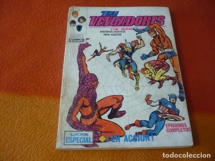 LOS VENGADORES VERTICE TACO VOL. 1 Nº 5 EN ACCION 1970 (Tebeos y Comics - Vértice - Vengadores)