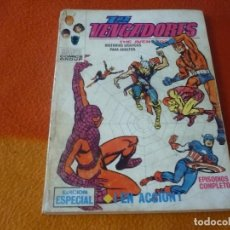 Cómics: LOS VENGADORES VERTICE TACO VOL. 1 Nº 5 EN ACCION 1970. Lote 196890585