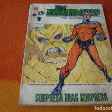 Cómics: LOS VENGADORES VERTICE TACO VOL. 1 Nº 43 SORPRESA TRAS SORPRESA 1972. Lote 196891197