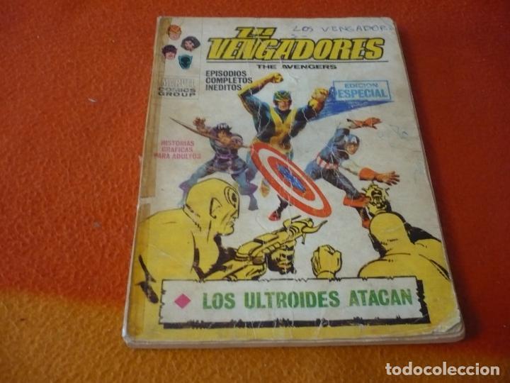 LOS VENGADORES VERTICE TACO VOL. 1 Nº 16 LOS ULTROIDES ATACAN 1972 (Tebeos y Comics - Vértice - Vengadores)