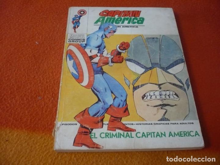 CAPITAN AMERICA VERTICE TACO VOL. 1 Nº 35 EL CRIMINAL 1974 (Tebeos y Comics - Vértice - Capitán América)