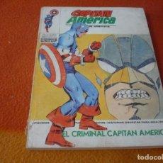 Cómics: CAPITAN AMERICA VERTICE TACO VOL. 1 Nº 35 EL CRIMINAL 1974. Lote 196894206