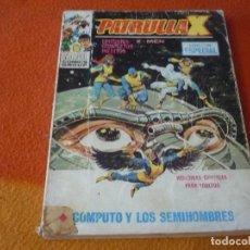 Cómics: LA PATRULLA X VERTICE TACO VOL. 1 Nº 21 COMPUTO Y LOS SEMIHOMBRES 1969 X MEN. Lote 196969780