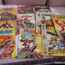 Comics : LOTE - KID - ACCION - PUÑO - POWER - KELLY - CONAN - VENGADORES ANUAL. Lote 197163125