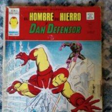 Cómics: EL HOMBRE DE HIERRO Y DAN DEFENSOR, VOL 2 NÚM 33. HÉROES MARVEL. VÉRTICE. Lote 197169447