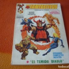 Cómics: LOS 4 FANTASTICOS VERTICE TACO VOL. 1 Nº 16 EL TEMIDO DIABLO 1969. Lote 197186418