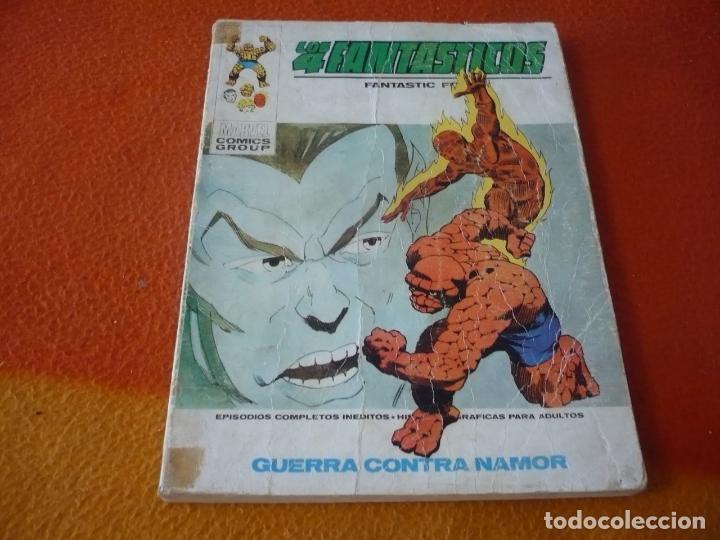 LOS 4 FANTASTICOS VERTICE TACO VOL. 1 Nº 51 GUERRA CONTRA NAMOR 1973 (Tebeos y Comics - Vértice - 4 Fantásticos)