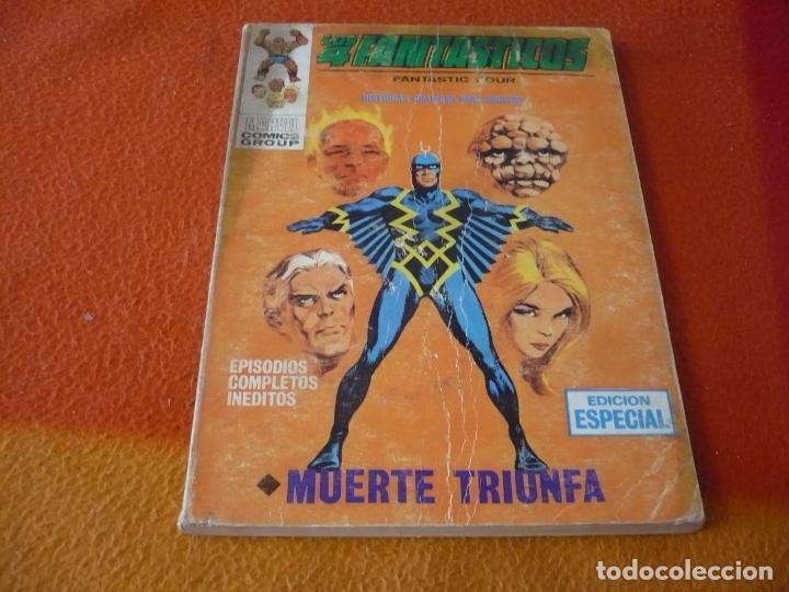 LOS 4 FANTASTICOS VERTICE TACO VOL. 1 Nº 29 MUERTE TRIUNFA 1969 (Tebeos y Comics - Vértice - 4 Fantásticos)