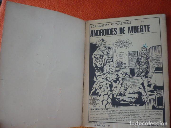 Cómics: LOS 4 FANTASTICOS VERTICE TACO VOL. 1 Nº 48 ANDROIDES DE MUERTE 1972 - Foto 3 - 197208821