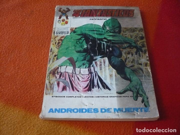LOS 4 FANTASTICOS VERTICE TACO VOL. 1 Nº 48 ANDROIDES DE MUERTE 1972 (Tebeos y Comics - Vértice - 4 Fantásticos)