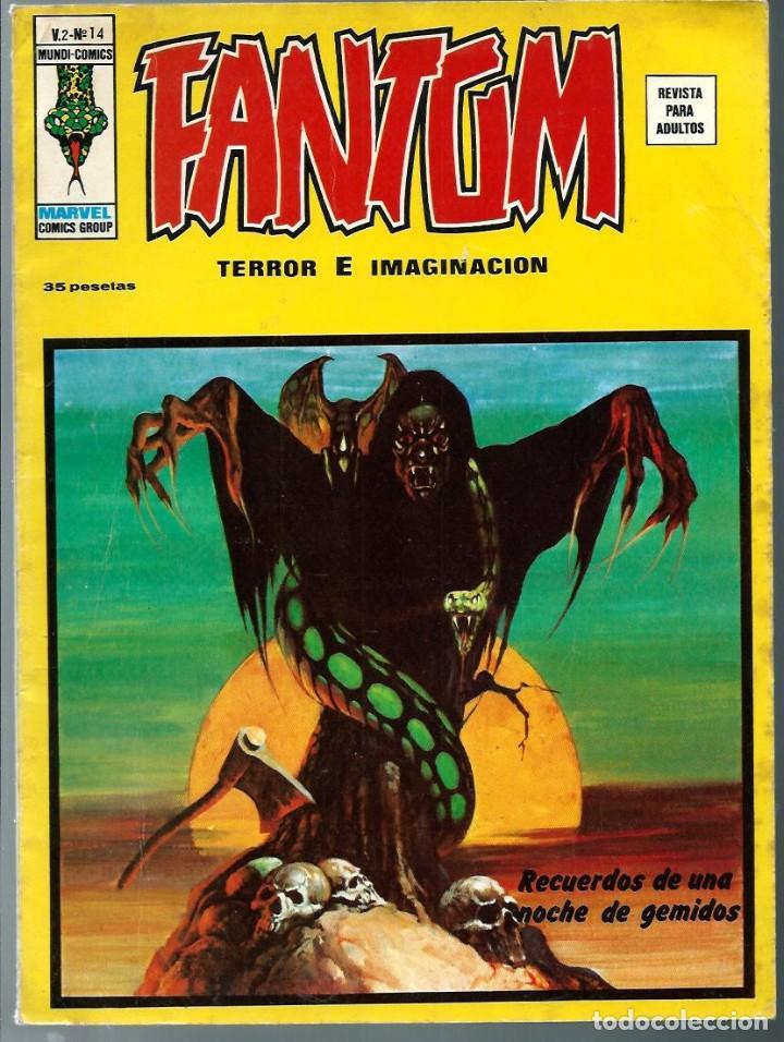 FANTOM V.2 Nº 14 - TERROR E IMAGINACION - VERTICE 1975 - BIEN CONSERVADO (Tebeos y Comics - Vértice - Terror)