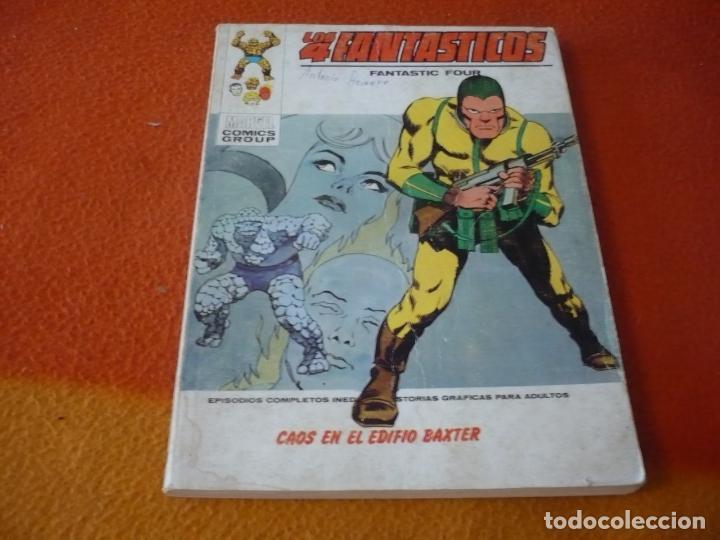 LOS 4 FANTASTICOS VERTICE TACO VOL. 1 Nº 50 CAOS EN EL EDIFICIO BAXTER 1973 (Tebeos y Comics - Vértice - 4 Fantásticos)