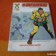 Cómics: LOS 4 FANTASTICOS VERTICE TACO VOL. 1 Nº 50 CAOS EN EL EDIFICIO BAXTER 1973. Lote 197294497