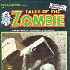 Cómics: ESCALOFRIO NUMERO 2. TALES OF THE ZOMBIE. VERTICE. MUY BUEN ESTADO. Lote 197322750