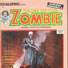 Cómics: ESCALOFRIO NUMERO 5 . TALES OF THE ZOMBIE. VERTICE. MUY BUEN ESTADO. Lote 197323046