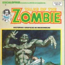 Cómics: ESCALOFRIO NUMERO 8 TALES OF THE ZOMBIE. VERTICE. MUY BUEN ESTADO. Lote 197323325
