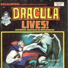 Cómics: ESCALOFRIO NUMERO 11 DRACULA LIVES. VERTICE. MUY BUEN ESTADO. Lote 197323822