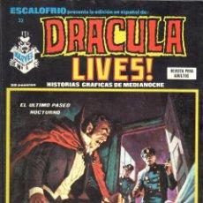 Cómics: ESCALOFRIO NUMERO 32 DRACULA LIVES. MUY BUEN ESTADO. Lote 197326537